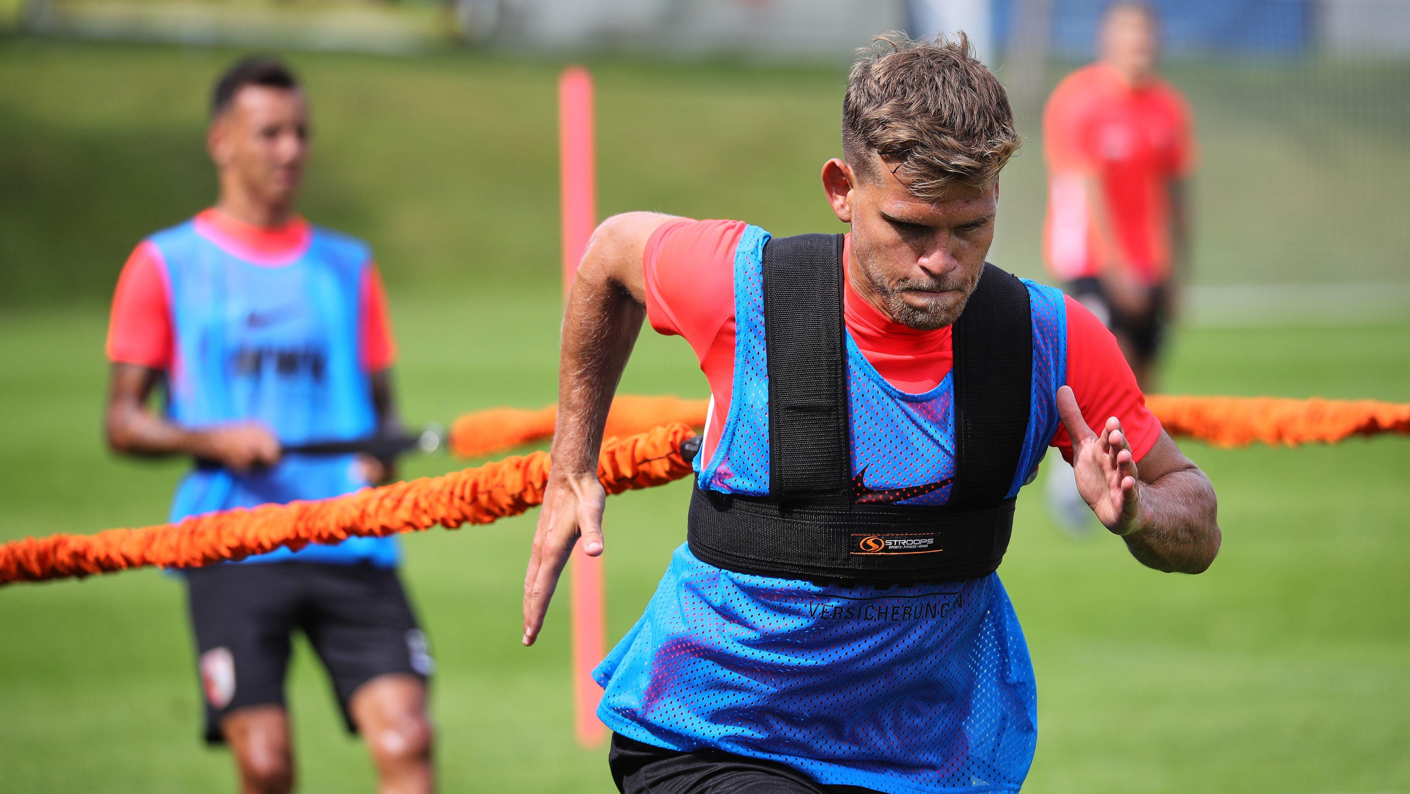 Trainingslager FC Augsburg: Neuzugang Florian Niederlechner