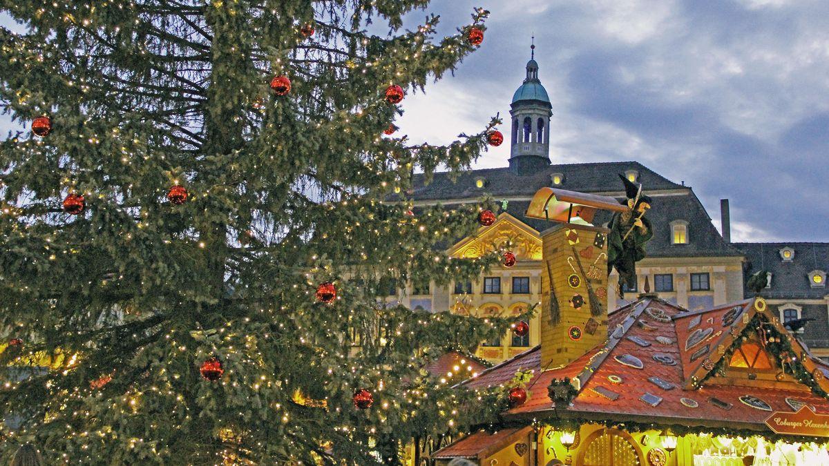 Archivbild: Weihnachtsmarkt in Coburg
