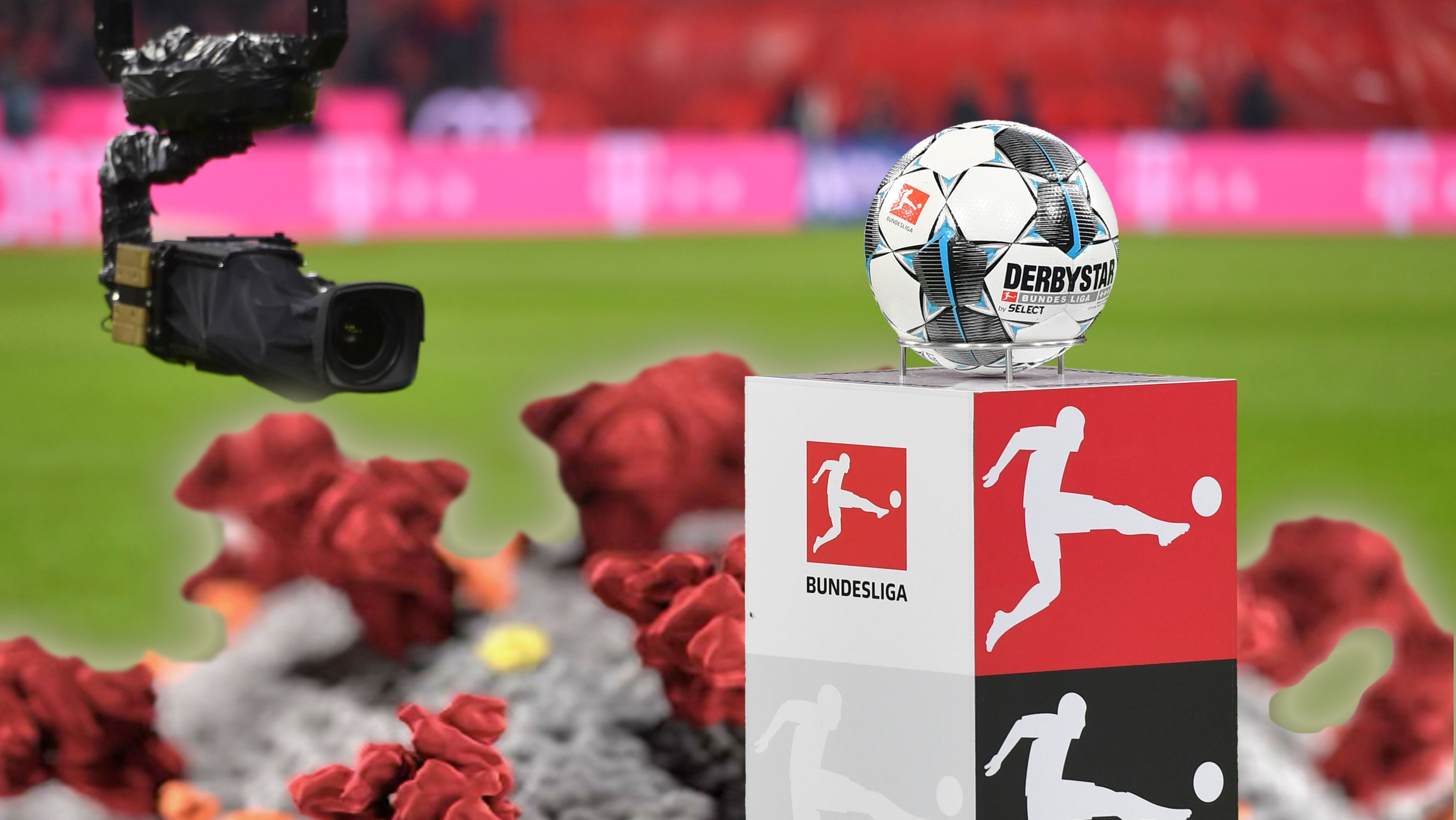 Die Bundesliga will Mitte Mai wieder den Betrieb starten.