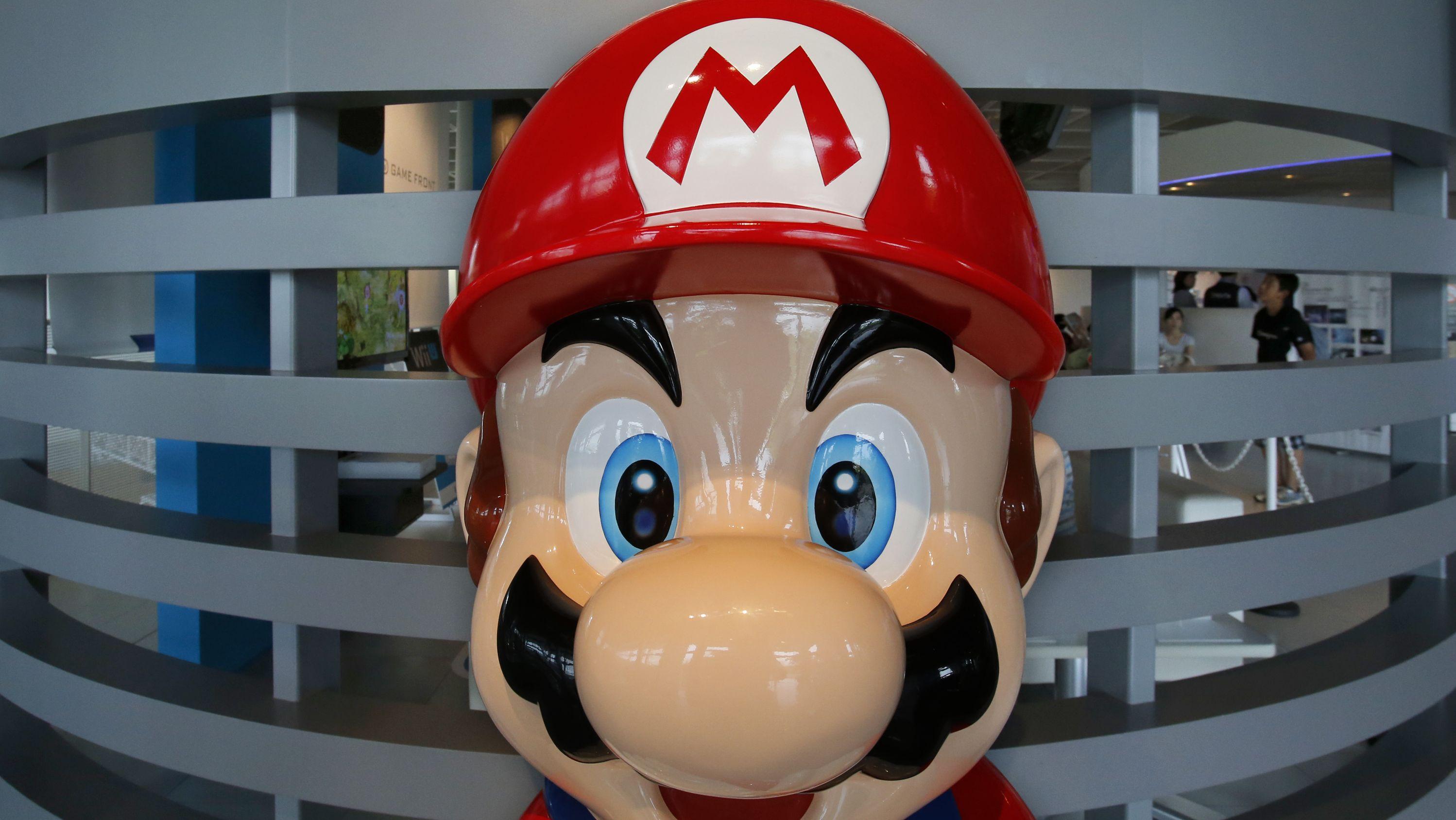 Nintendo Schriftzug, Super Mario
