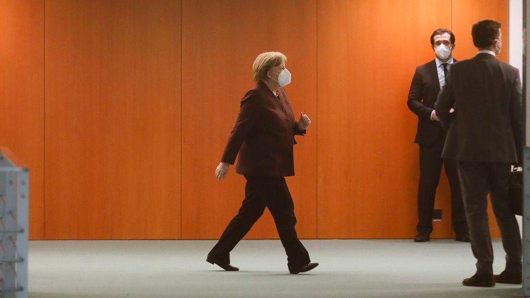 Merkel beim Corona-Gipfel
