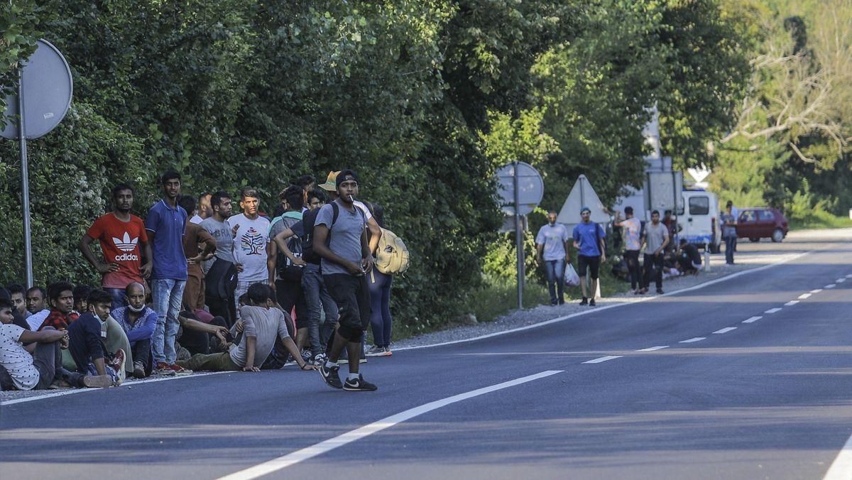Migranten in Bosnien und Herzegowina