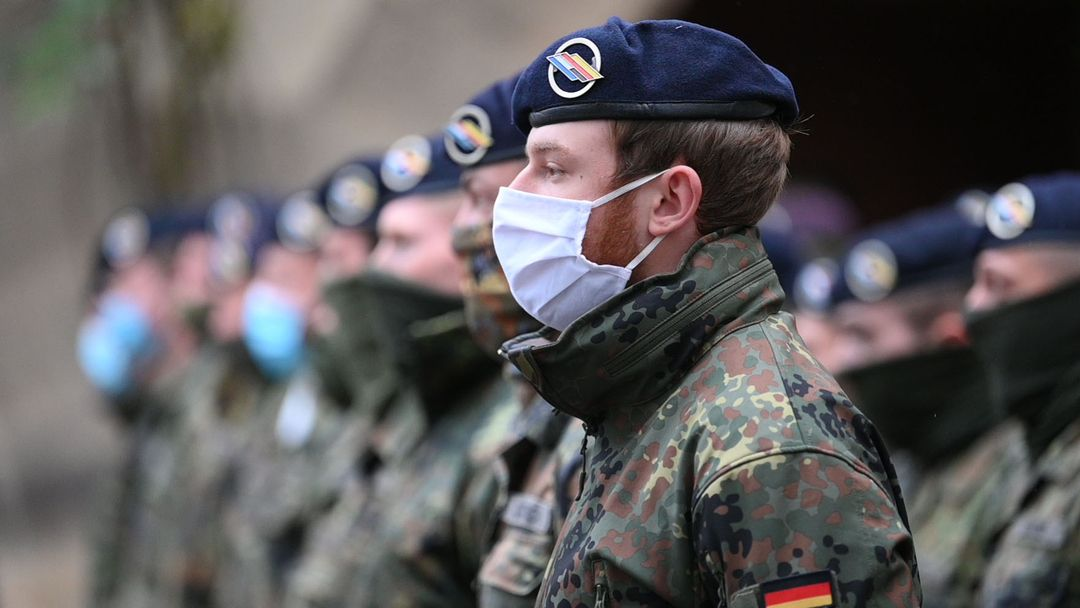 Soldaten vom Jägerbataillon in Donaueschingen