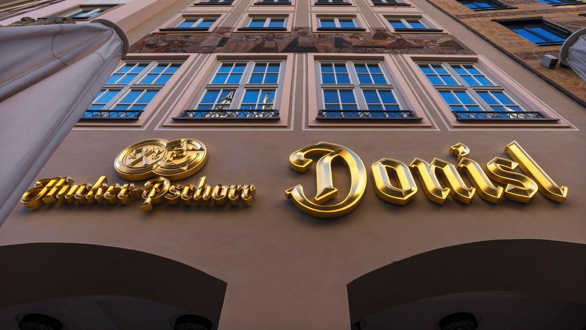 Die Münchner Traditionsgaststätte Donisl