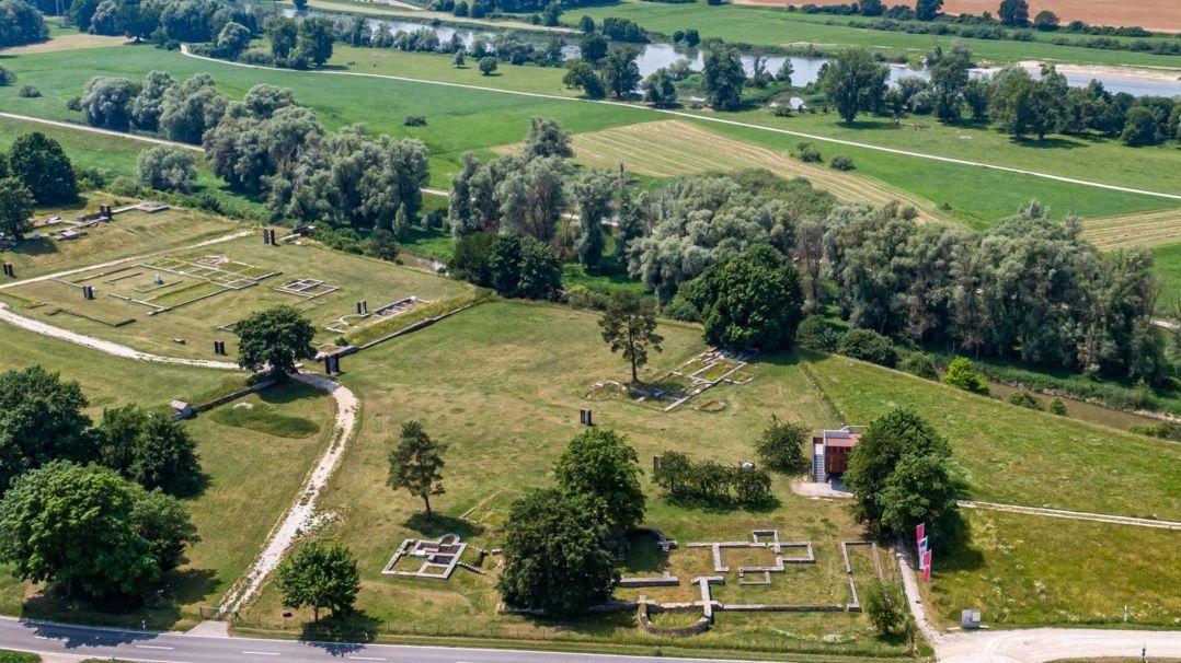 Römerkastell Abusina an der Donau bei Eining: Der Donaulimes soll  ins Unesco-Welterbe «Die Grenzen des Römischen Reiches» aufgenommen werden.