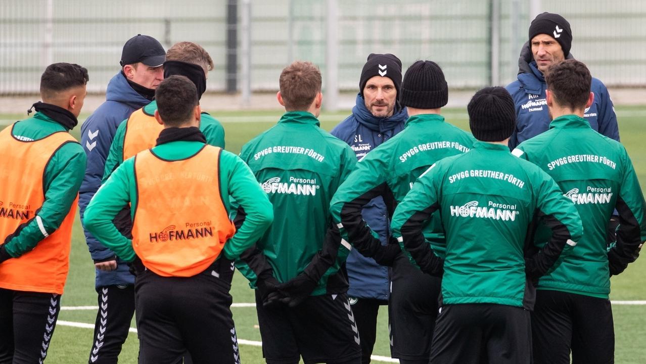 Stefan Leitls erstes Training bei der SpVgg Greuther Fürth