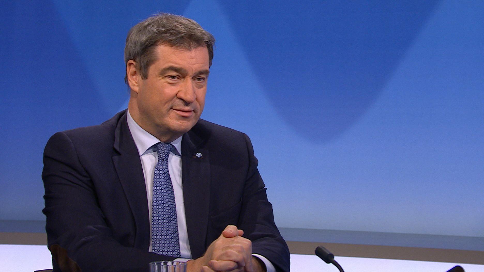 Ministerpräsident Markus Söder im BR-Interview