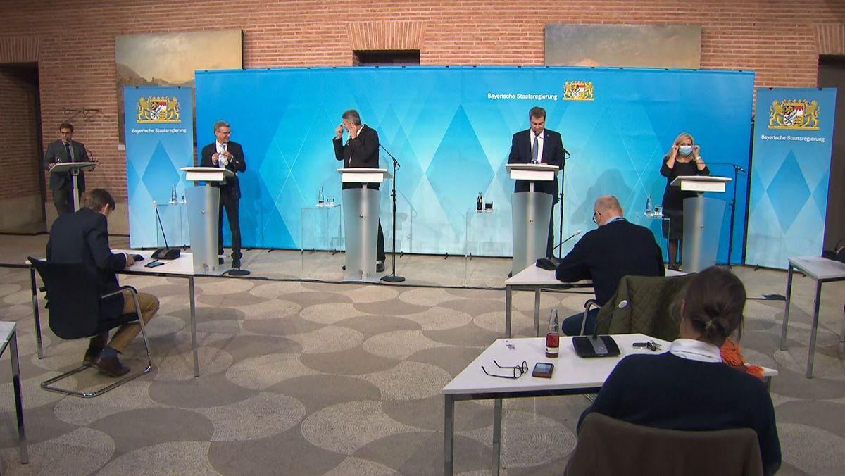 Pressekonferenz nach der Kabinettssitzung