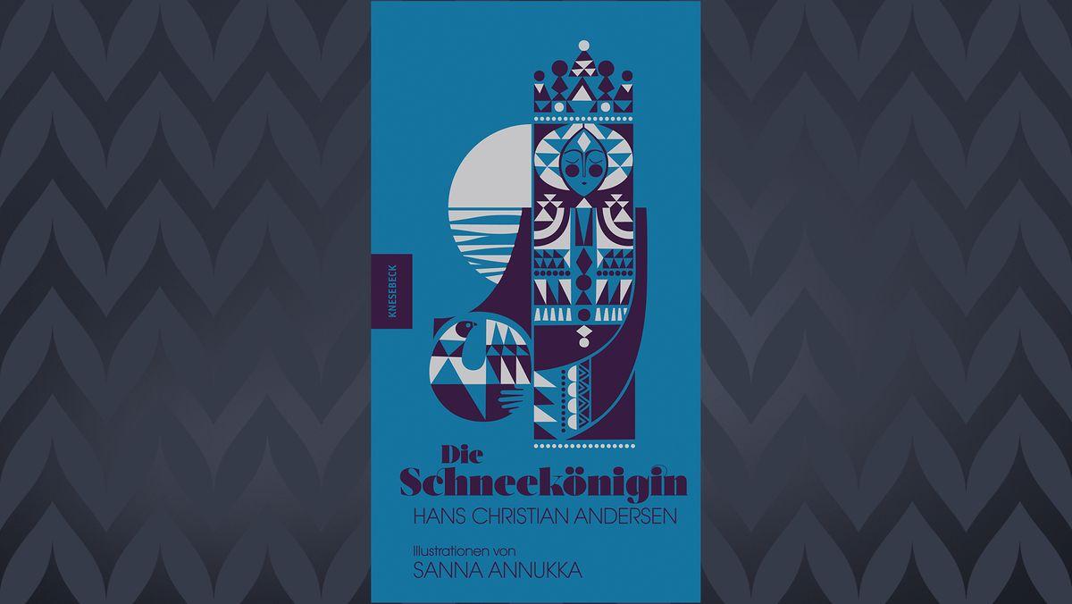 Buchcover mit blauem Muster
