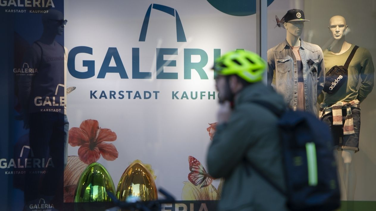 Neues Firmenlogo Karstadt-Kaufhof