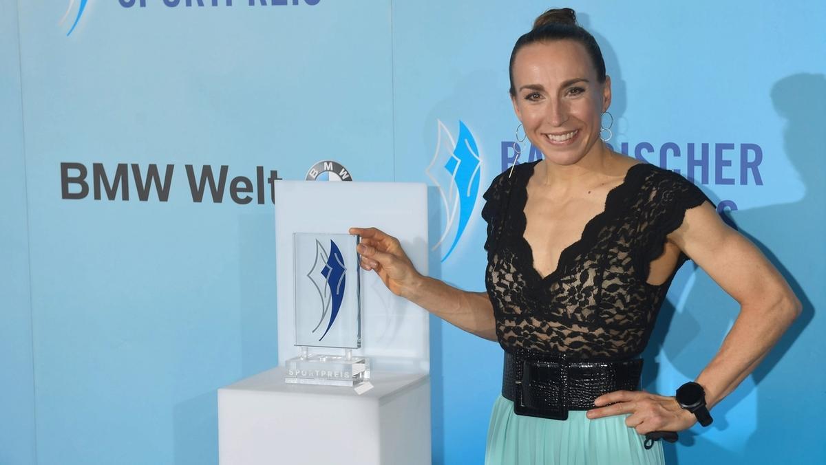 Bayerischer Sportpreis für Anne Haug