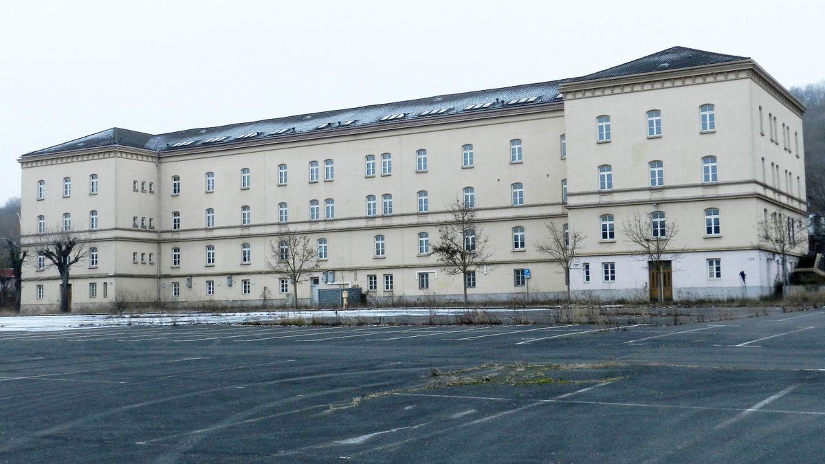Die Faulenberg-Kaserne in Würzburg