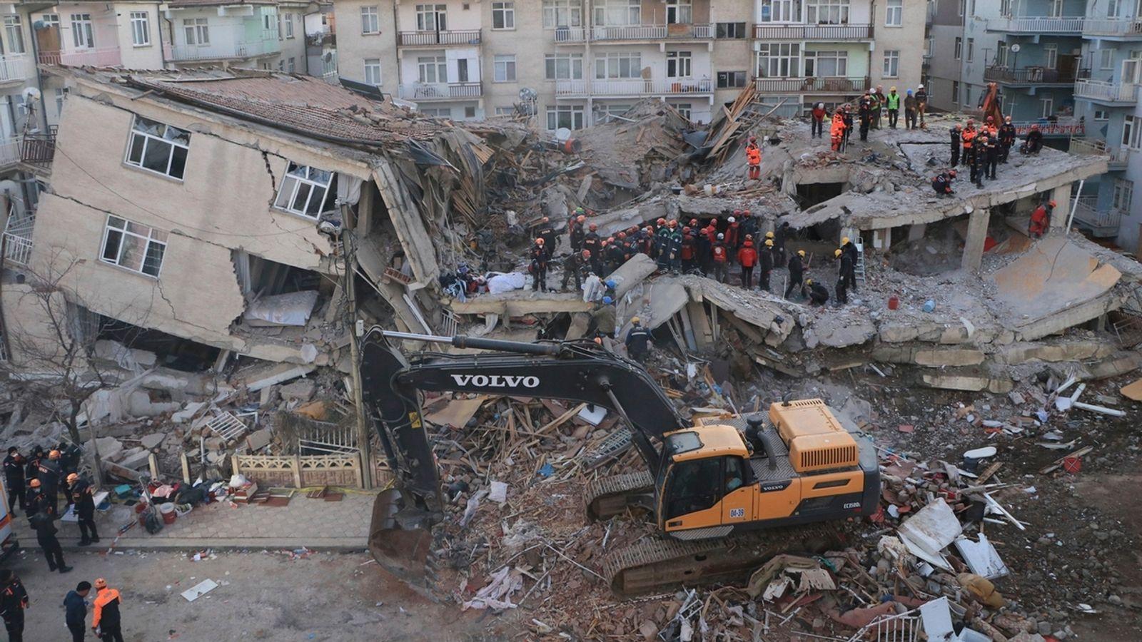 erdbeben türkei 2019