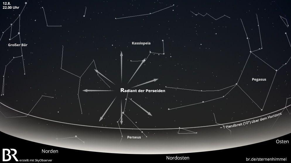 Sternschnuppen der Perseiden: Kosmischer Staub verglüht am Himmel