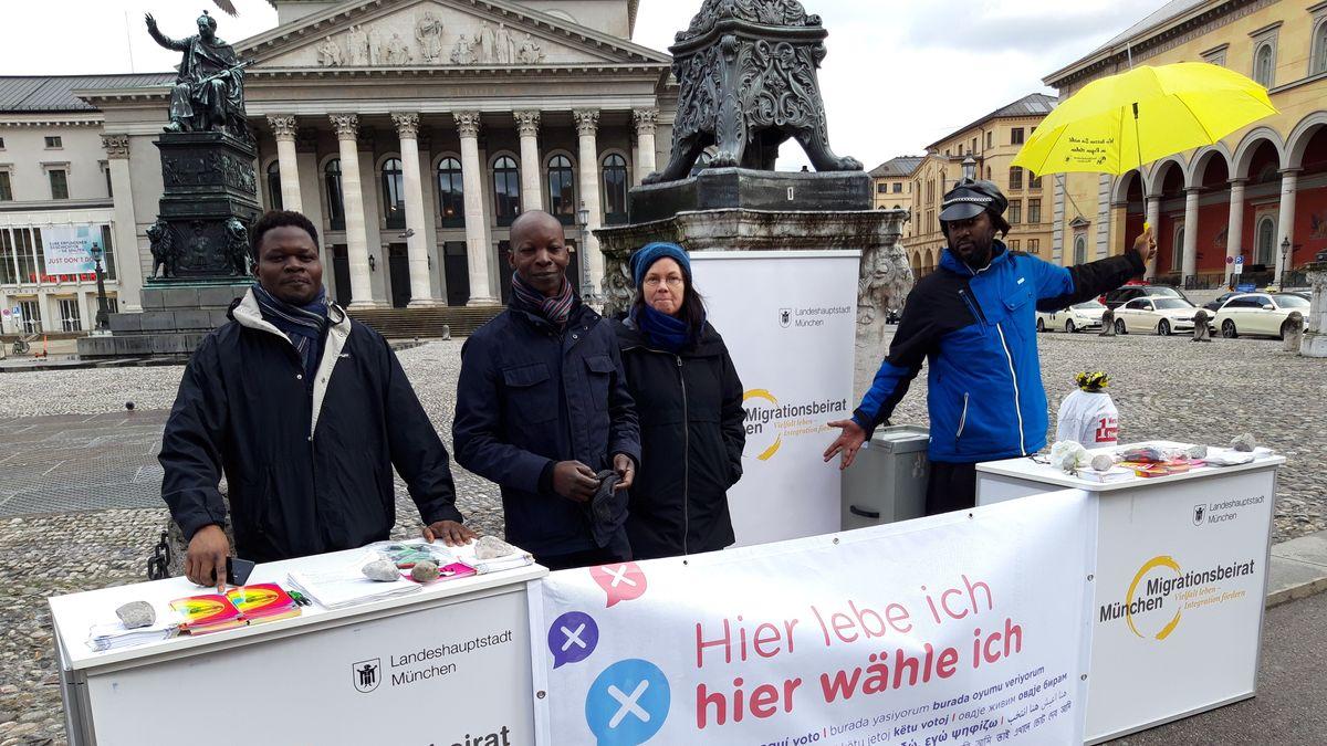Migranten bei der Kommunalwahl in Bayern