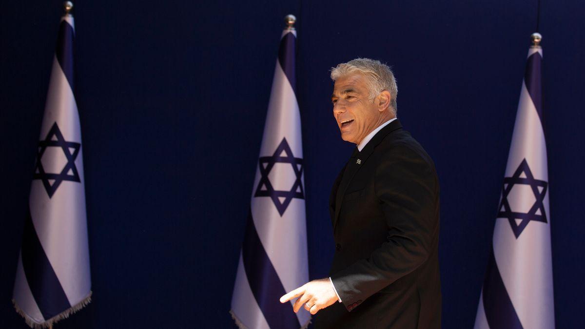 Israels Außenminister Lapid ist ein Mann der politischen Mitte.