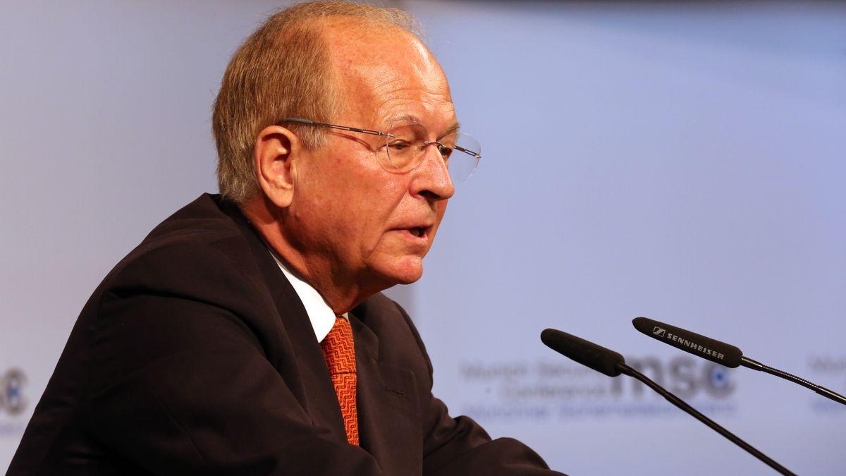 Wolfgang Ischinger auf der Münchner Sicherheitskonferenz (Archiv)