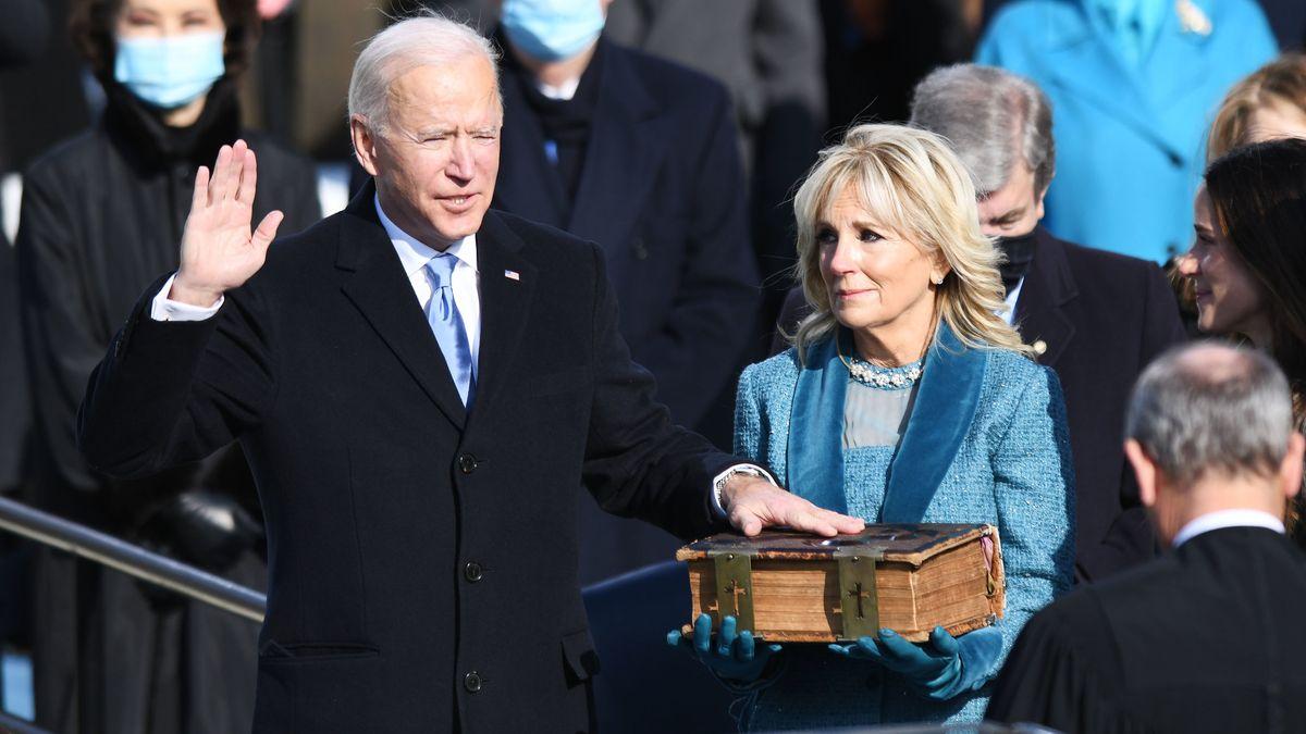 Joe Biden schwört den Amtseid