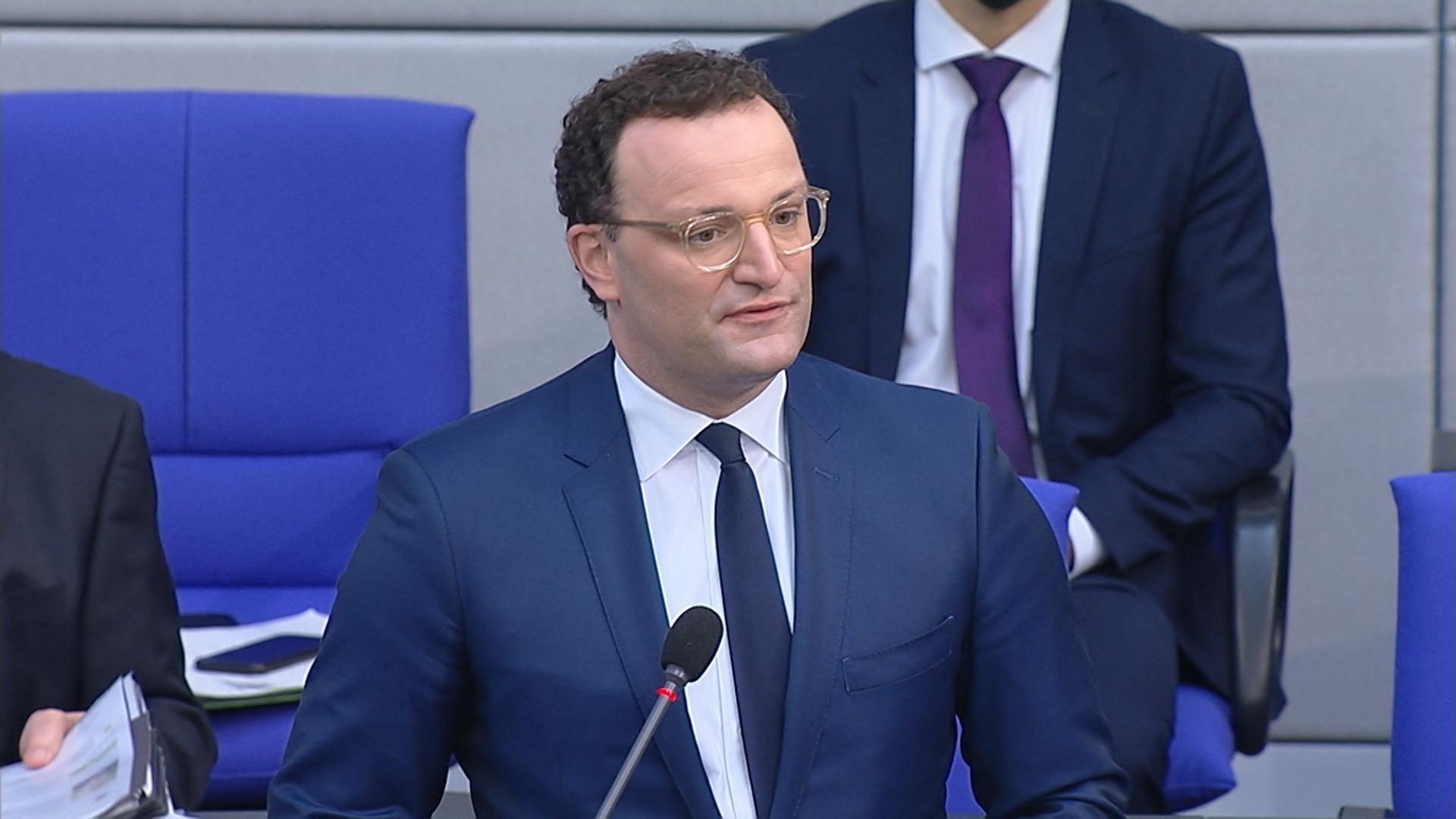 Jens Spahn, CDU, Bundesgesundheitsminister