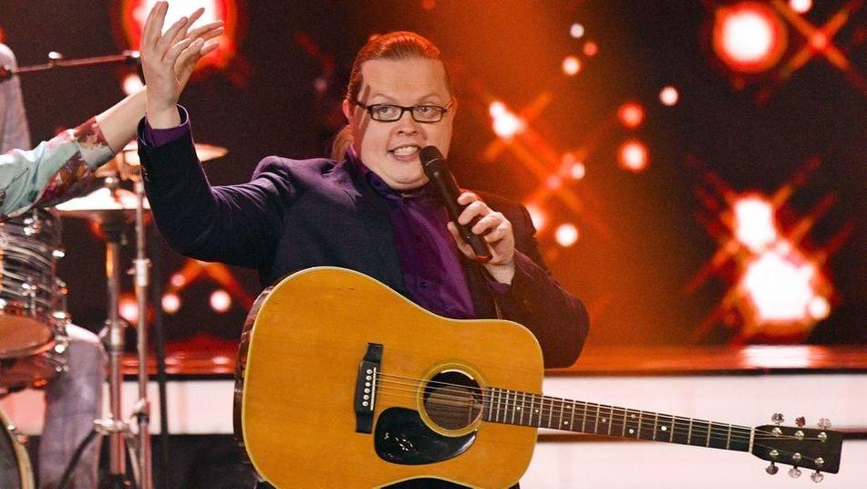 Musiker Angelo Kelly auf der Bühne