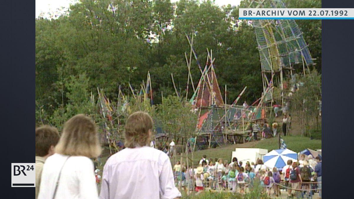 Spielplatz im Klenzepark in Ingolstadt