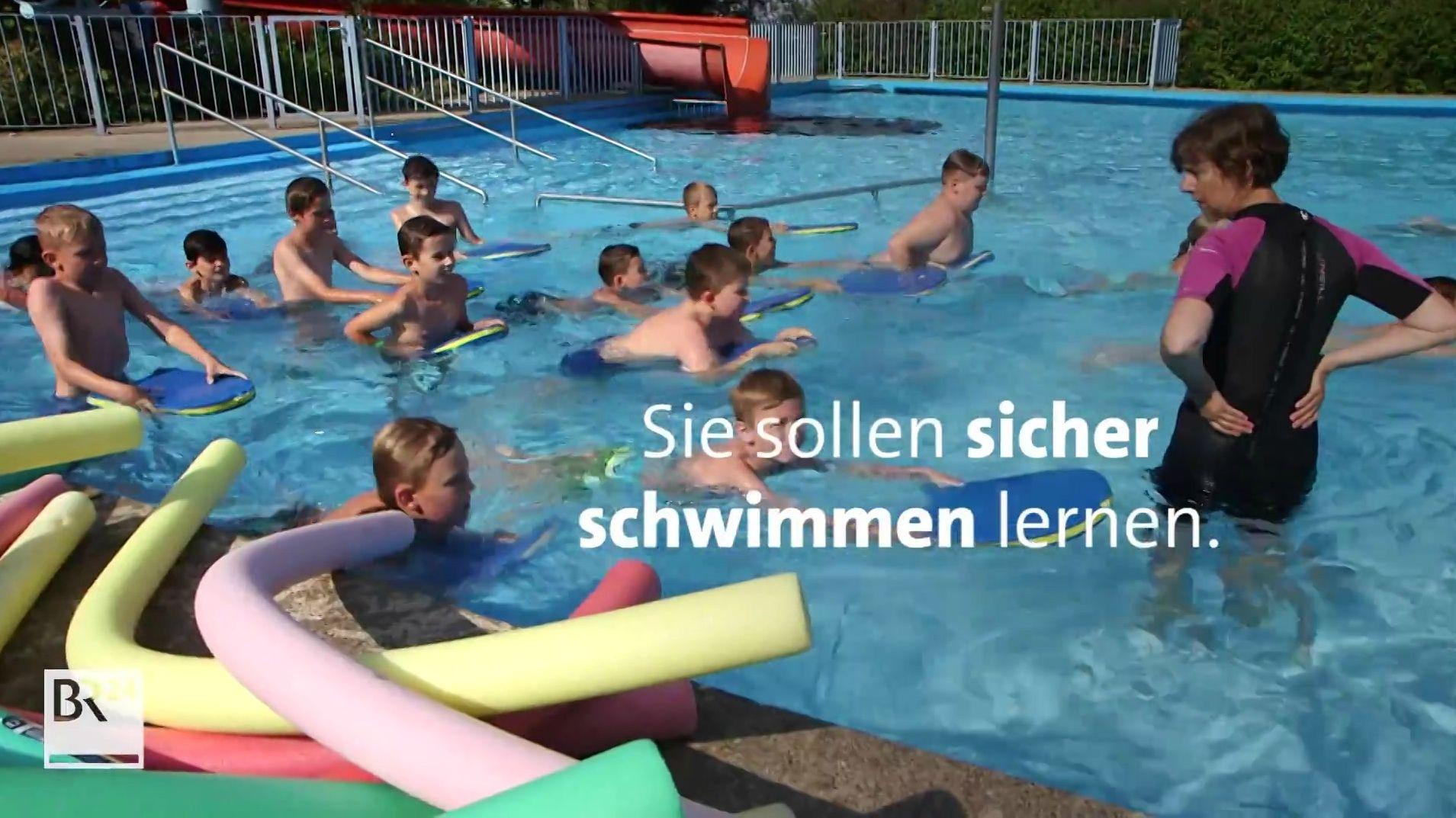 """Aktion """"Bayern schwimmt"""": Kampf den Nichtschwimmern"""