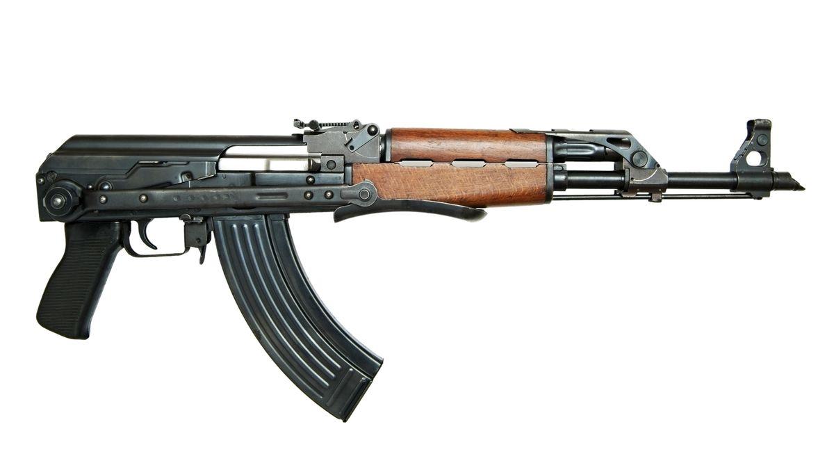 Eine Kalaschnikov AK47 (Symbolbild)