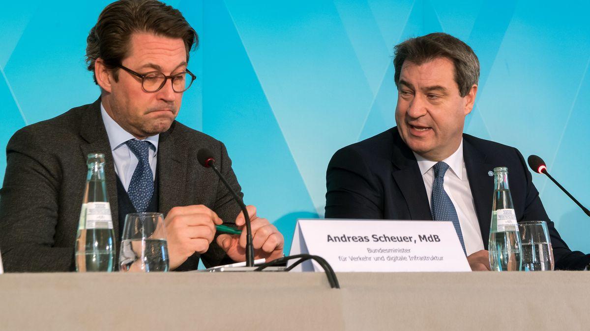 Archivbild: Scheuer und Söder