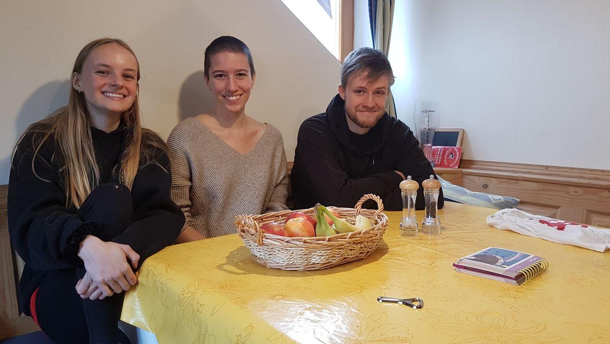 Clara (20), Eva (19) und Florian (22) starten in diesen Tagen ihr Studium in München