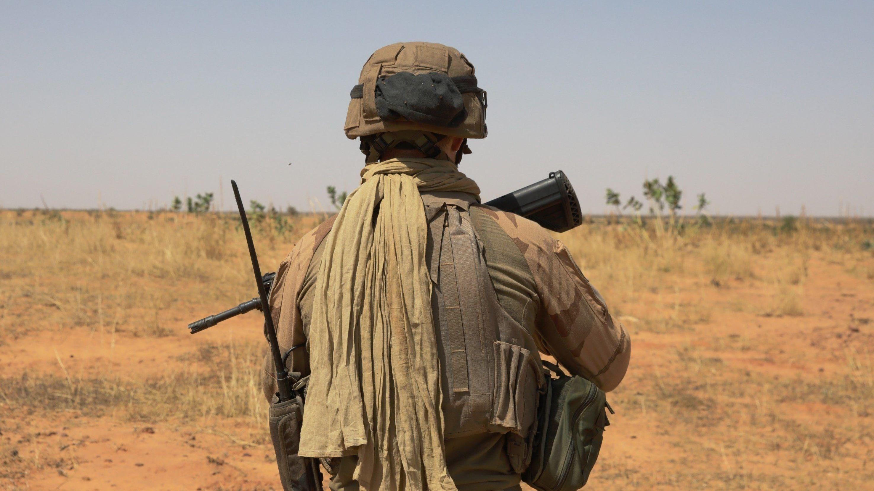 Französischer Soldat im Rahmen der Operation Barkhane in Mali (Archivbild)
