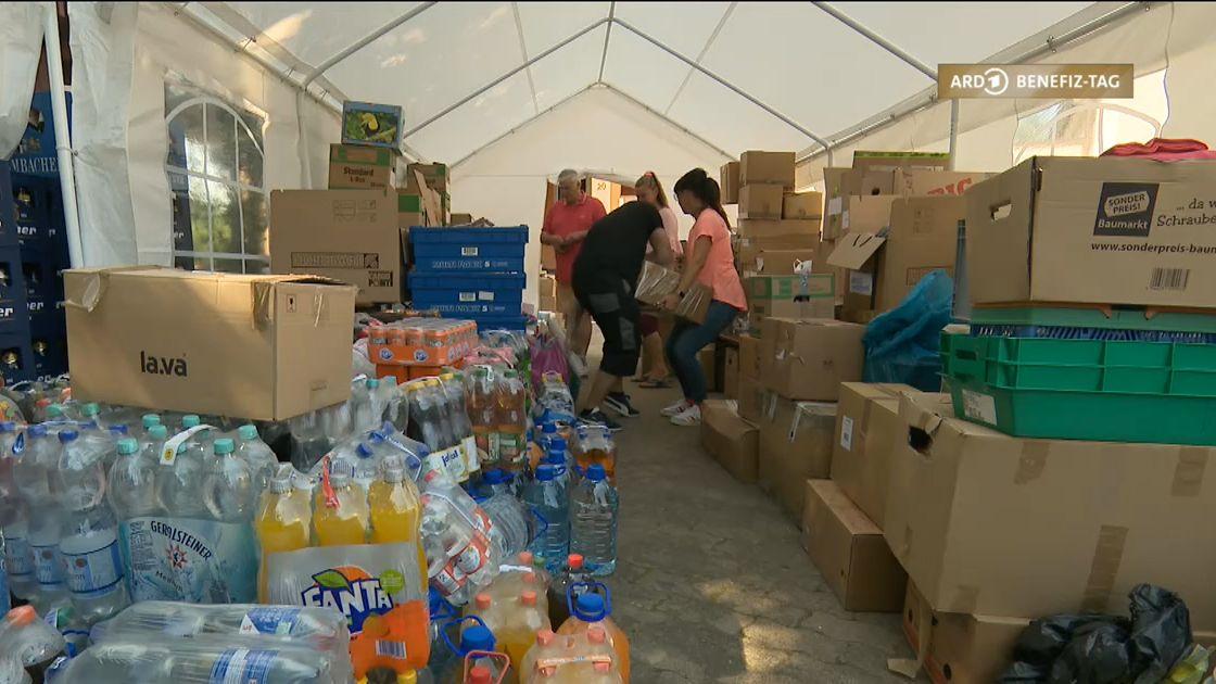 Spenden für Flutopfer