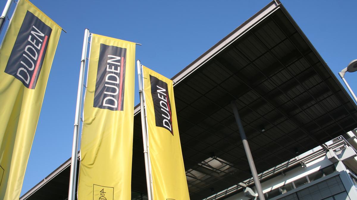 Der Duden-Verlag in Mannheim