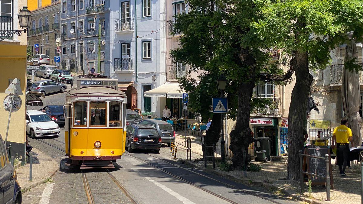 Radeln in Lissabon