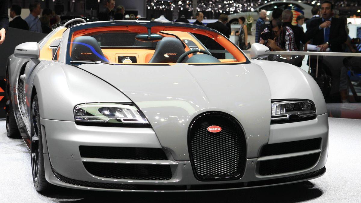 Ein Bugatti Veyron 16.4 Super Sport (Symbolfoto).