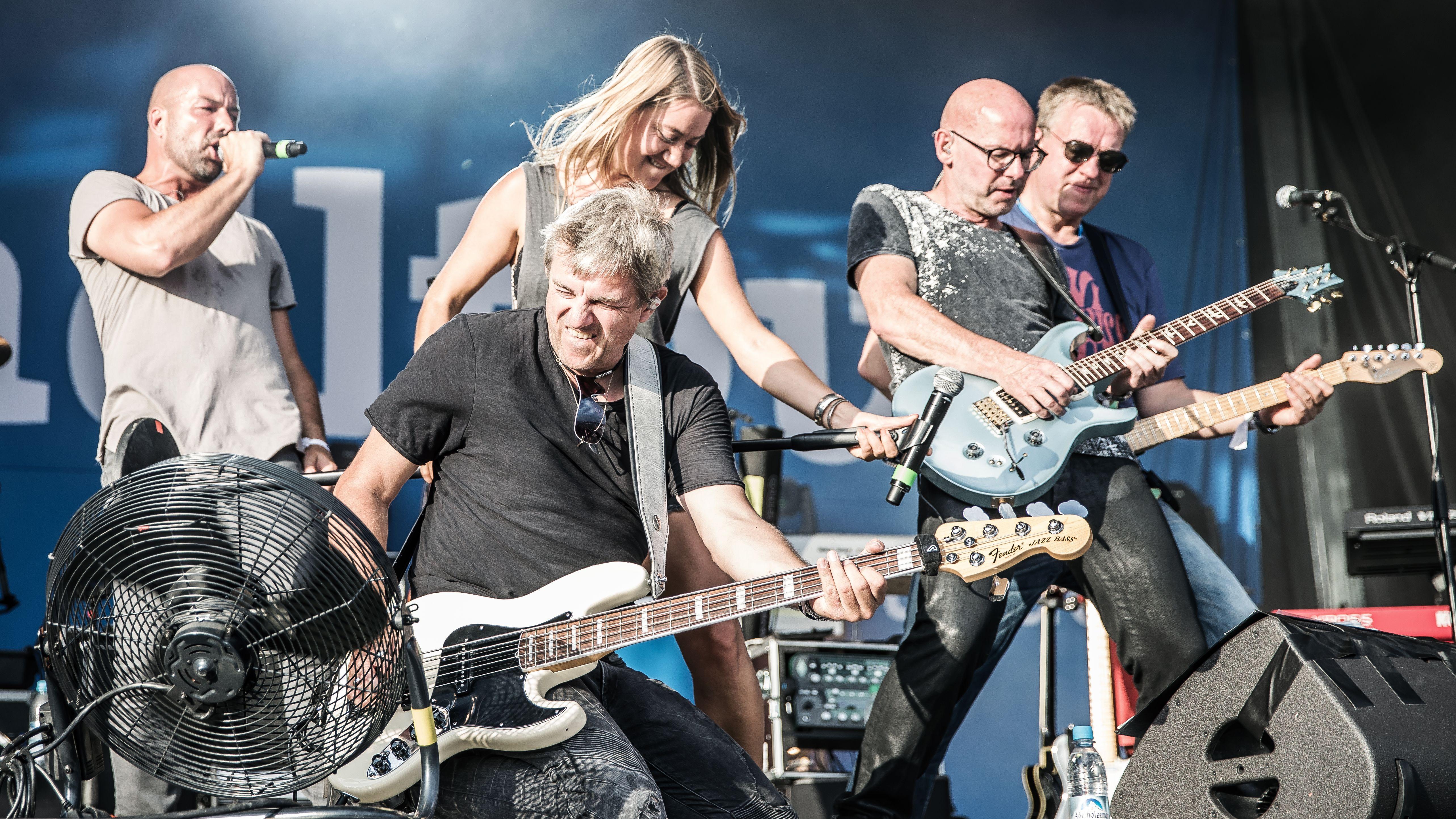 Die Bayern1-Band spielt am Freitagabend auf dem Regensburger Bürgerfest.