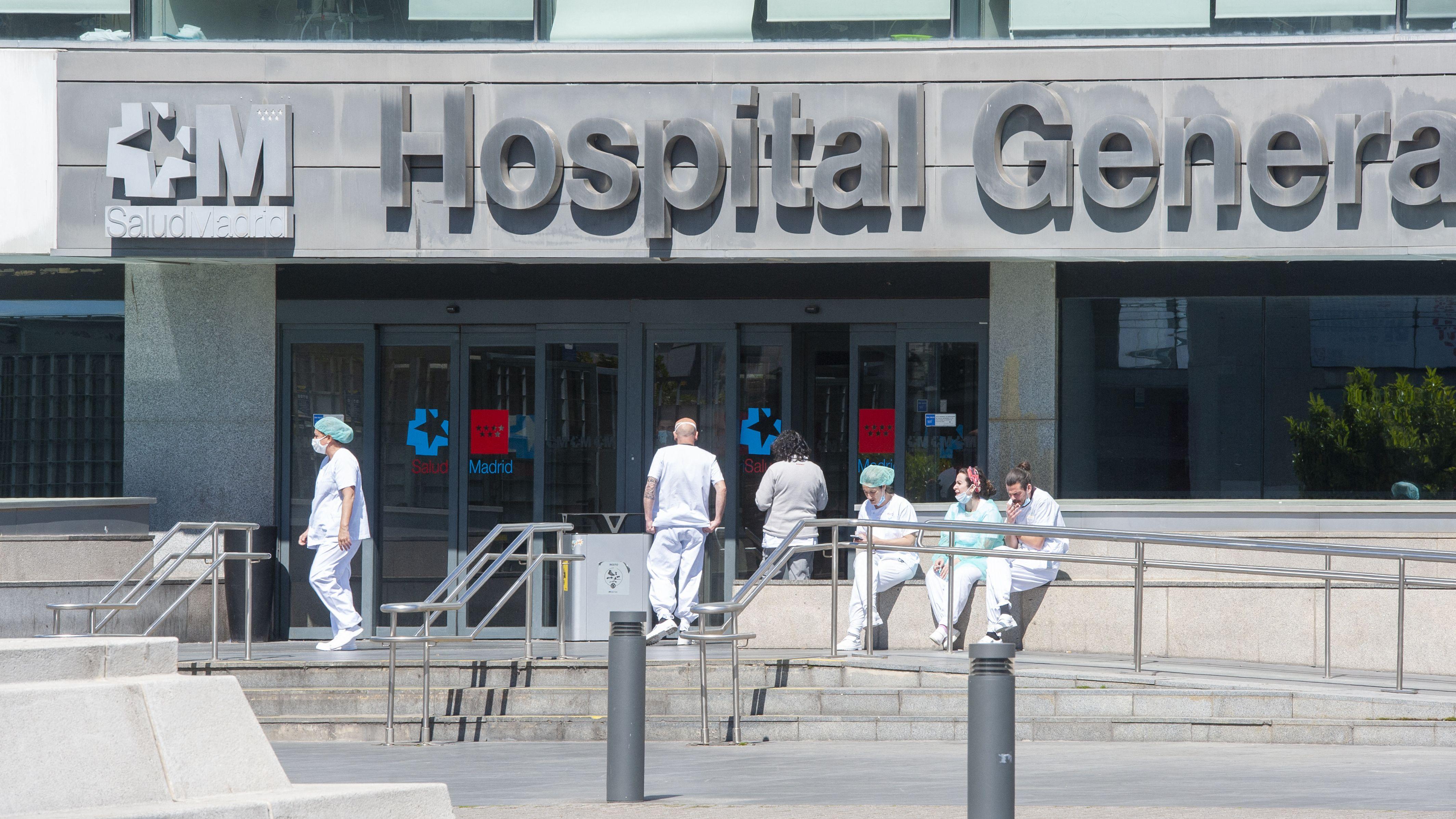 Krankenhaus in Madrid