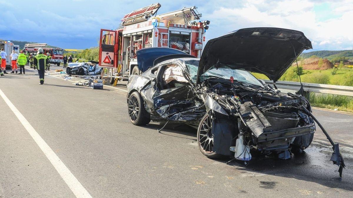 Unfall bei Trunstadt