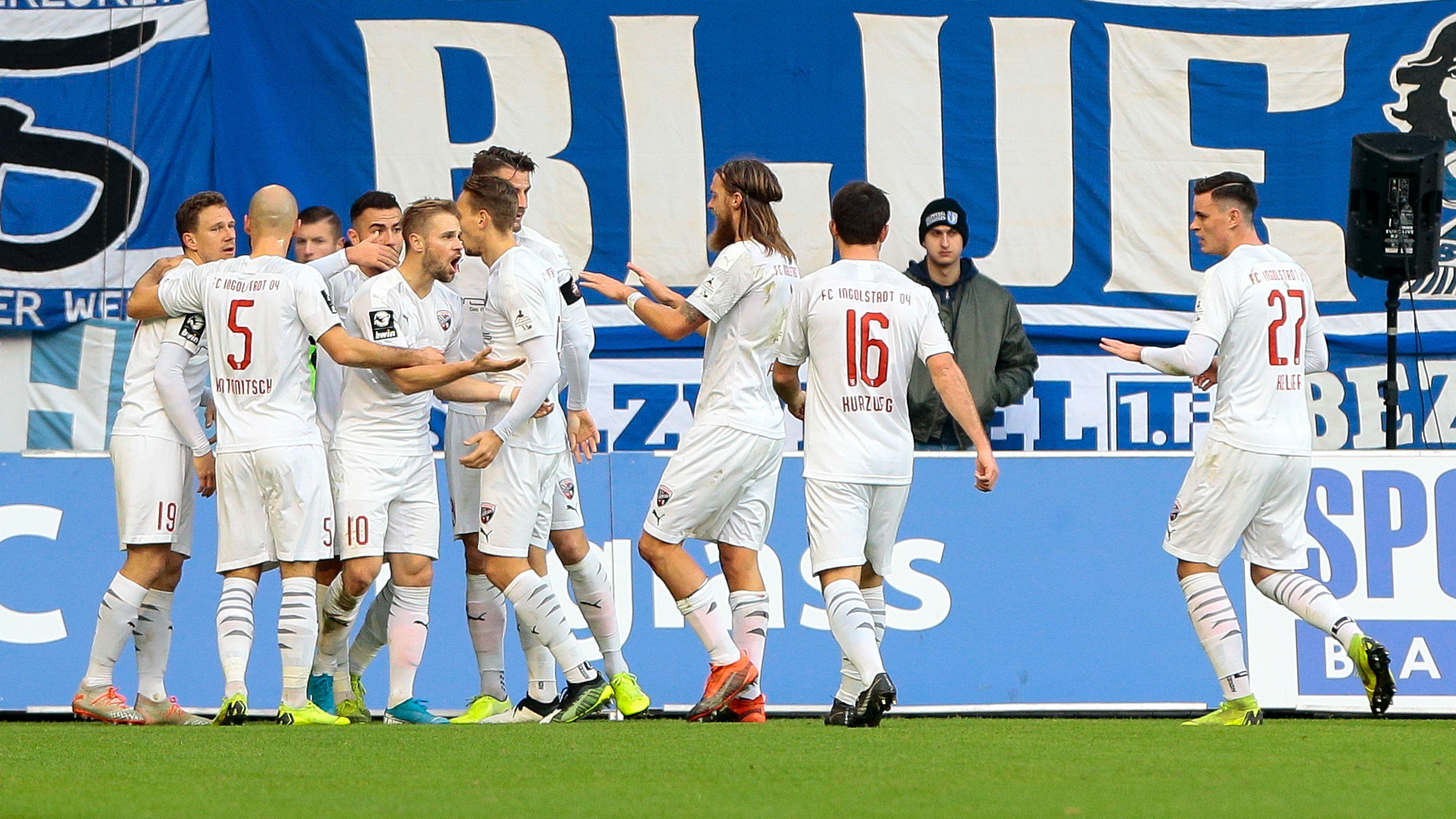 Jubel beim FC Ingolstadt
