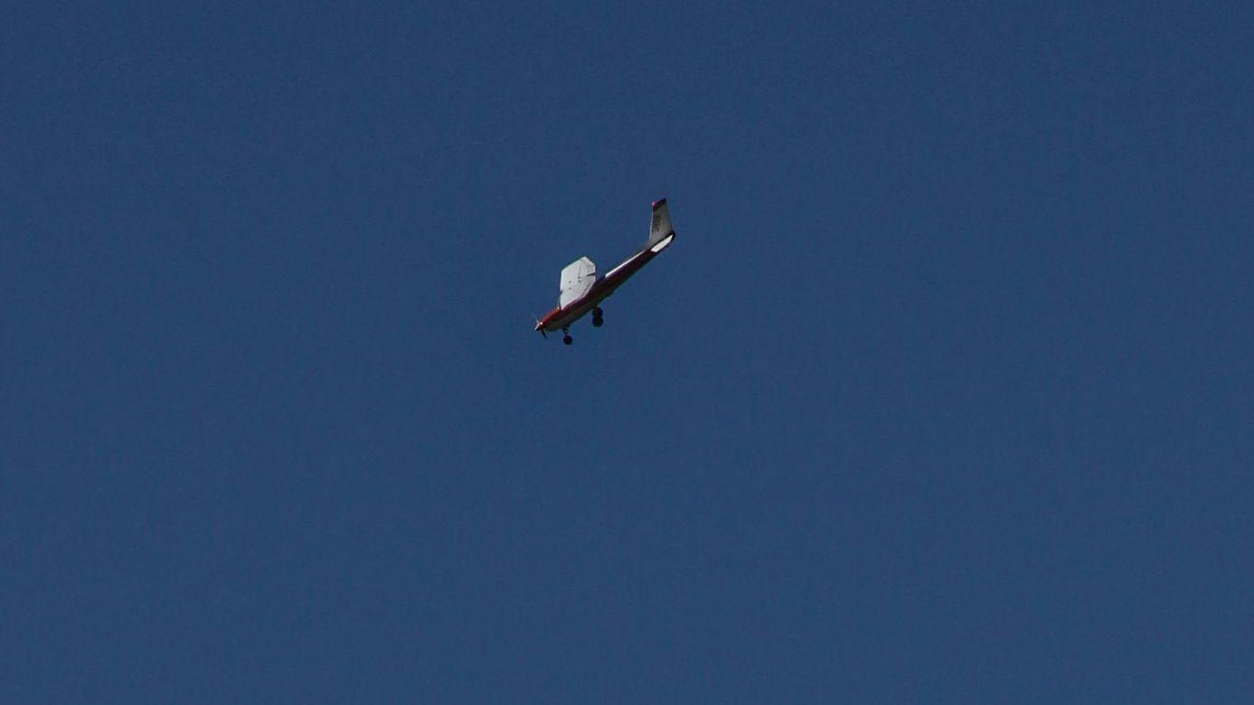 Symbolbild: Eine Cessna am Himmel