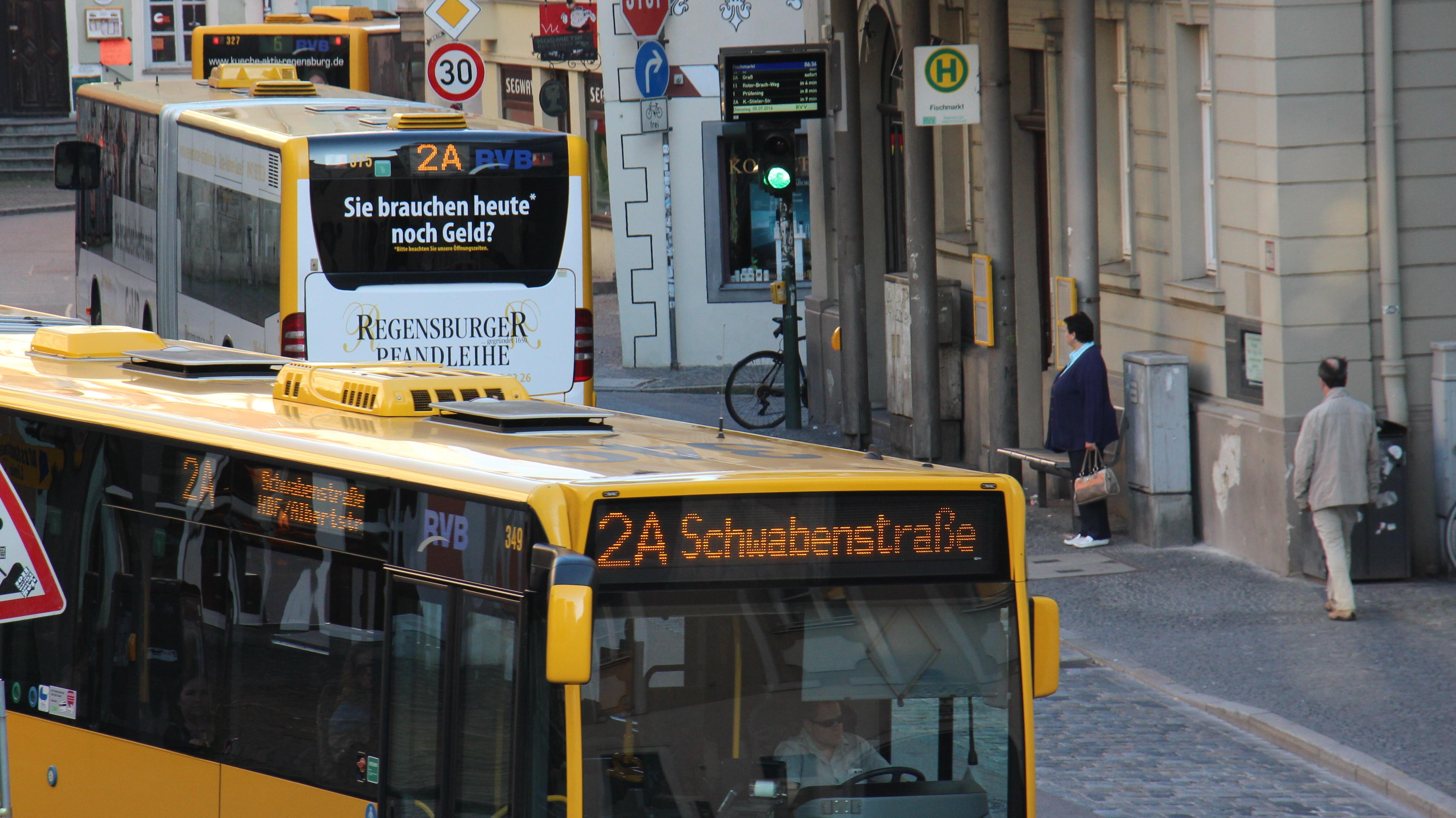 usse in der Regensburger Altstadt (Keplerstraße - Goldene-Bären-Straße)