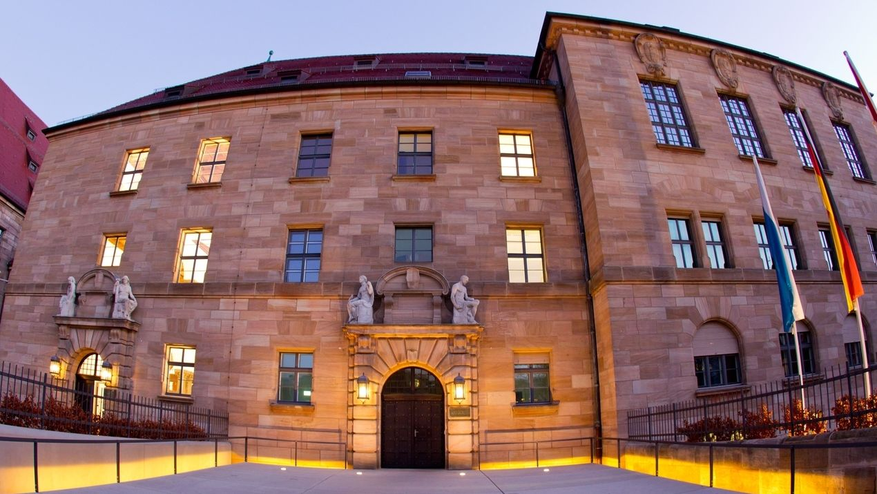 Justizpalast in Nürnberg