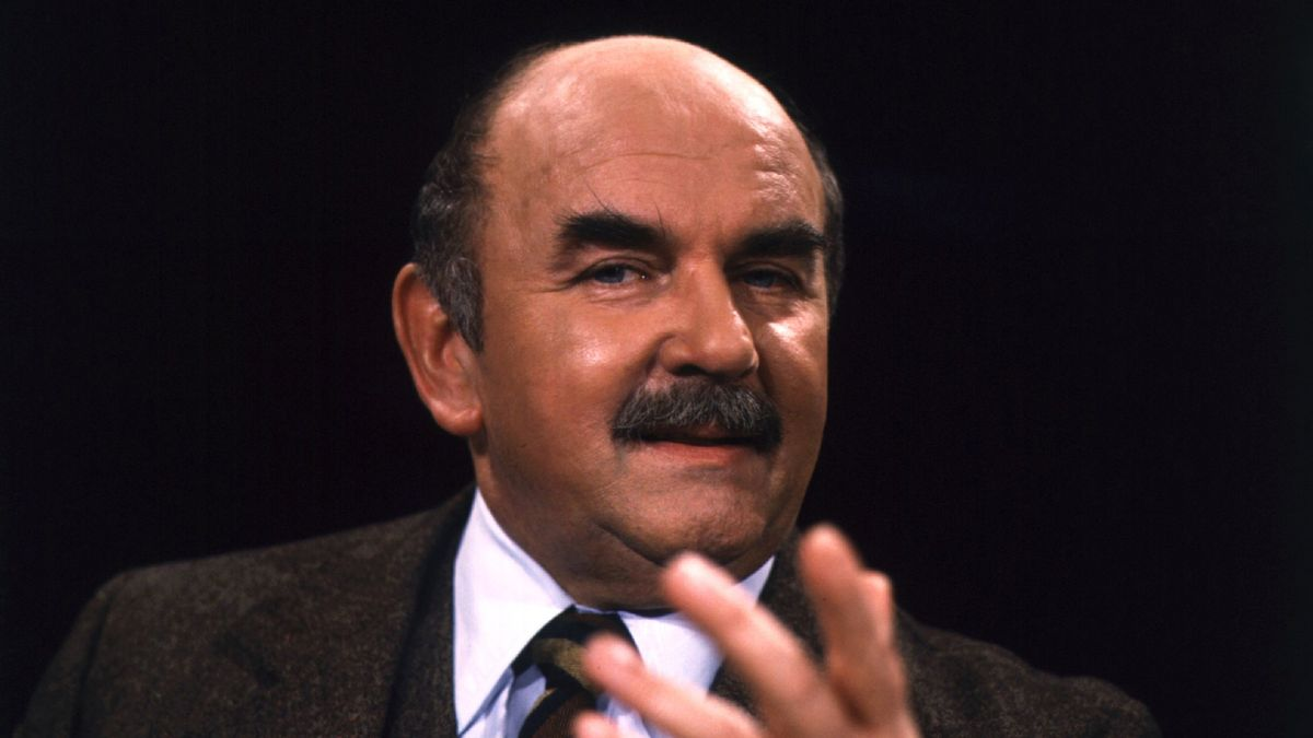 Porträt des Schauspielers Walter Sedlmayr, zwei Jahre vor seinem Tod