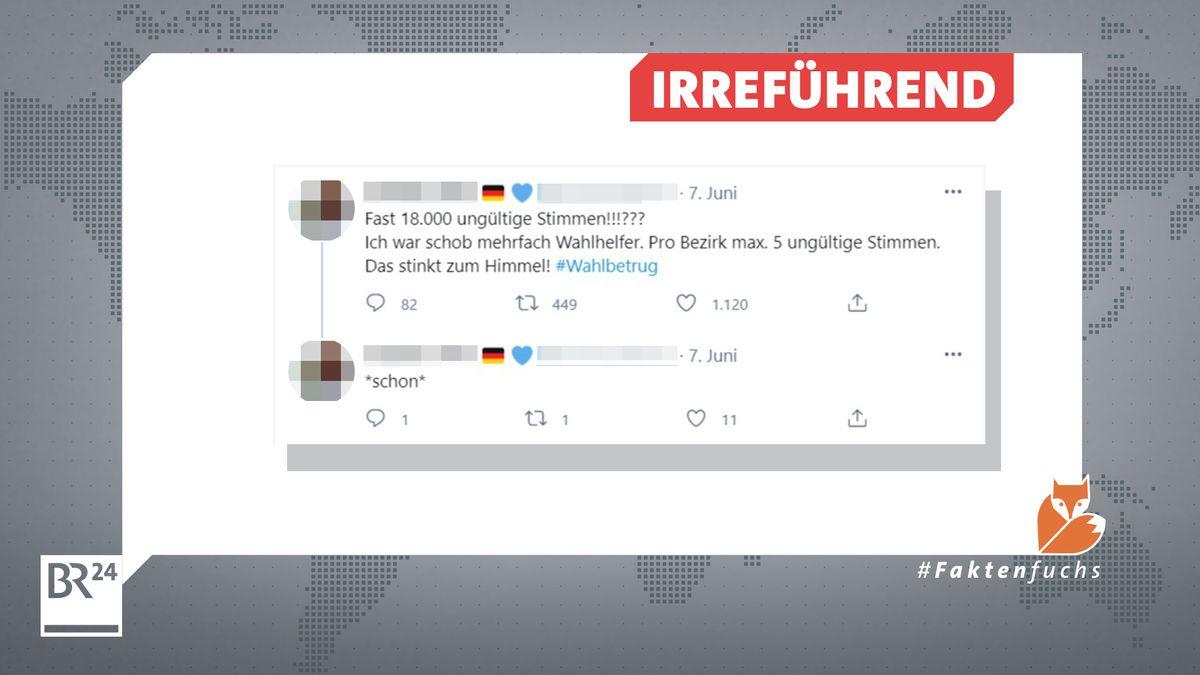 Die Behauptung, es habe angeblich mehr ungültigen Stimmen bei der Wahl in Sachsen-Anhalt gegeben, ist irreführend.