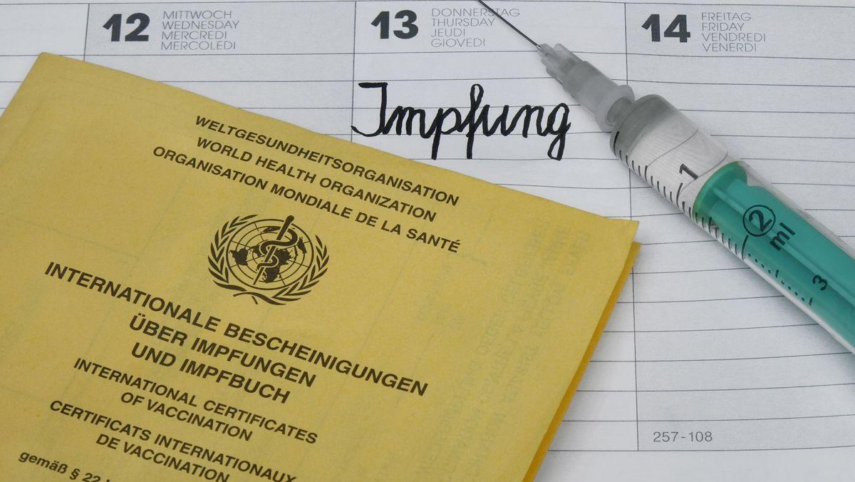 Symbolbild Impfbescheinigung