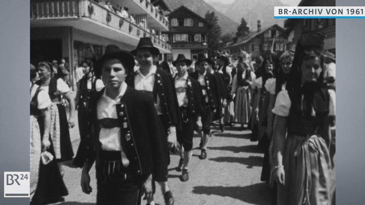 Trachtenumzug in Oberstdorf