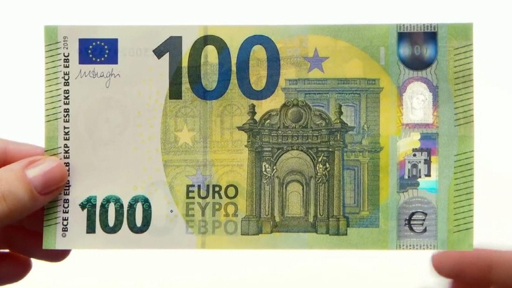 Ab dem 28. Mai bringt die EZB die neuen 100- und 200-Euro-Banknoten in Umlauf. Sie sollen vor Fälschungen schützen und haben einige Verbesserungen gegenüber den alten Scheinen.