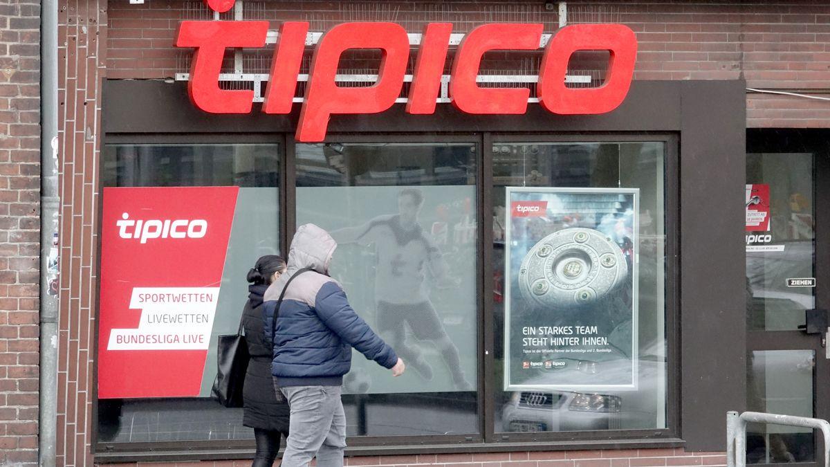 Wettbüro von Tipico (Symbolbild)