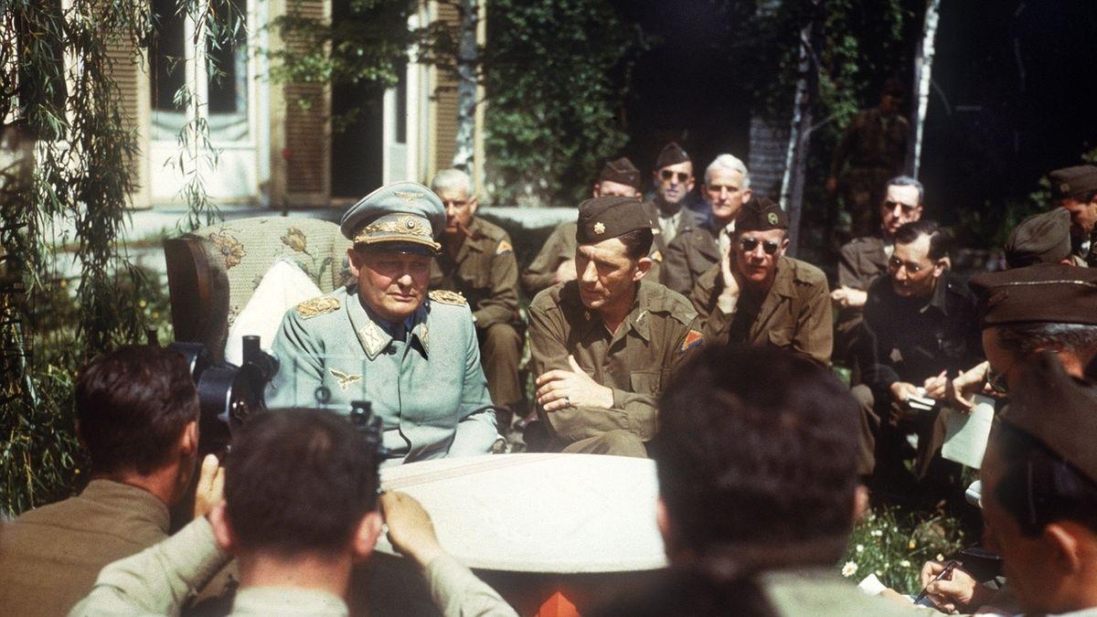 Hermann Göring in US-amerikanischer Gefangenschaft