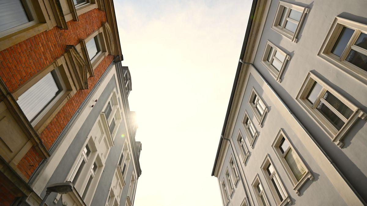 Häuserfassaden in Bamberg.