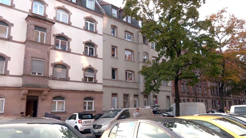 Das Wohnhaus im Nürnberger Süden